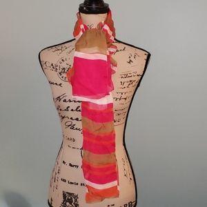 Jones New York Silk Scarf Wrap